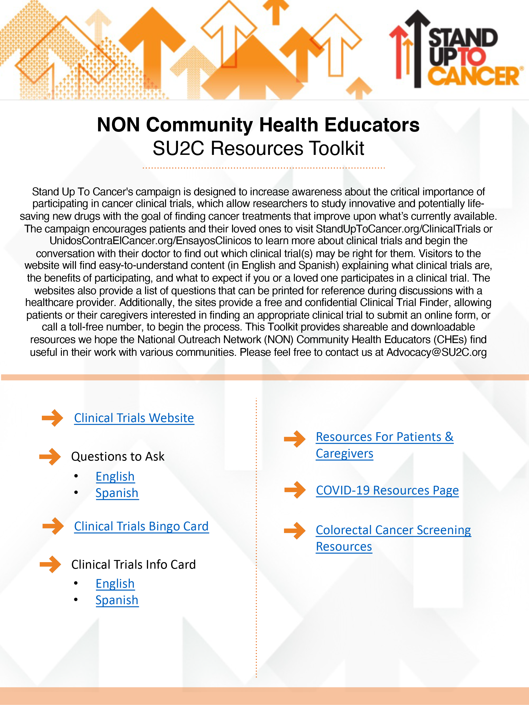 Download Our Health Educator Toolkit